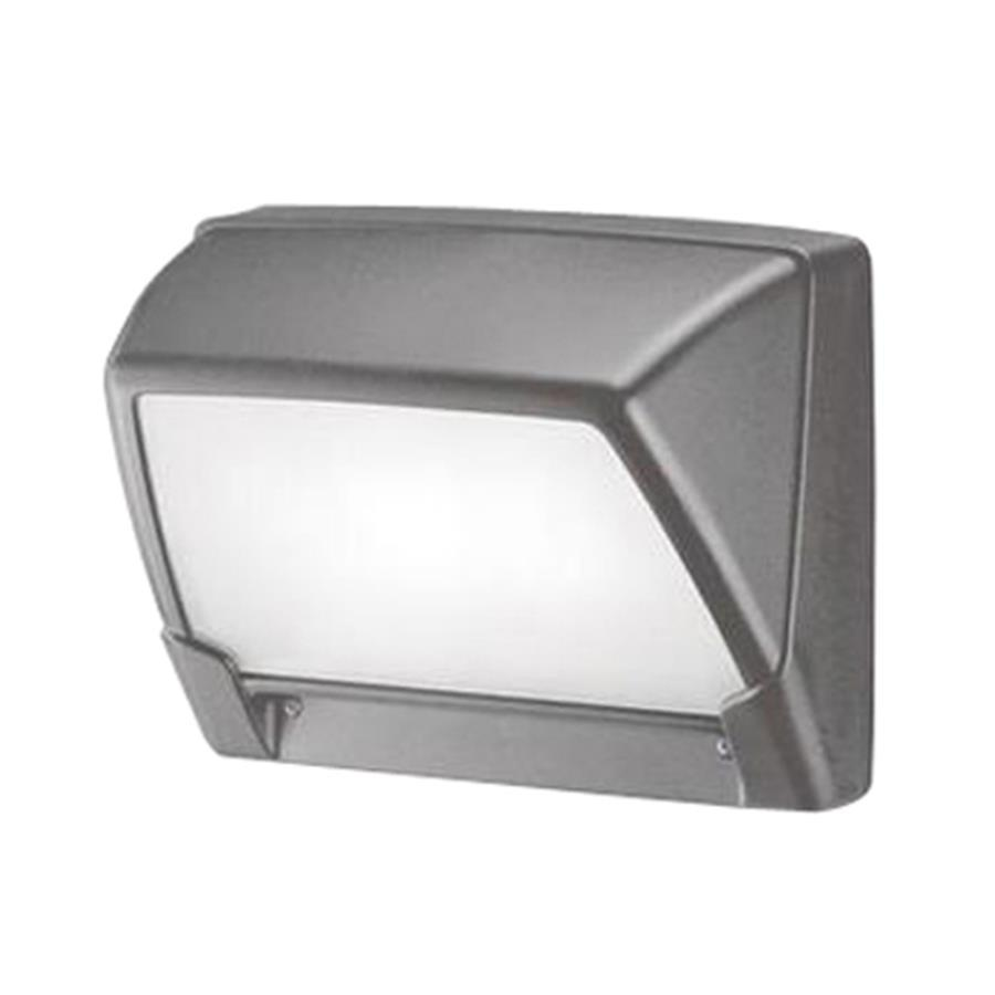 Eurofase Step 6.12-in H Grey Outdoor Wall Light