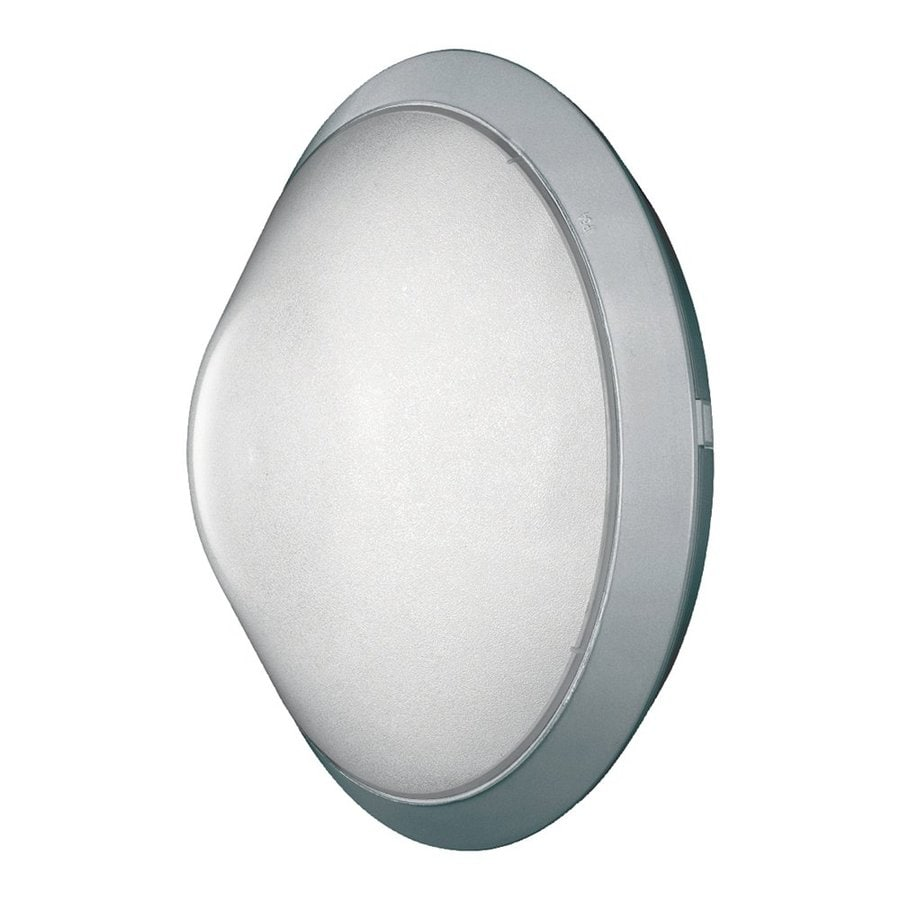 Searchlight 085 1 Light Outdoor Wall Light Brushed Chrome IP44 - Wall lights, LED bathroom ...