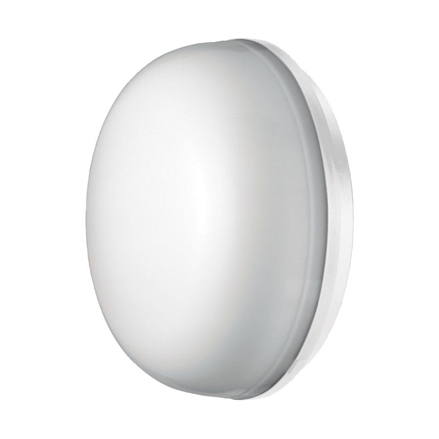 Eurofase Optima 10.43-in H White Outdoor Wall Light