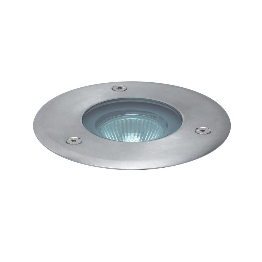 Eurofase 35-Watt Stainless Steel Halogen Well Light