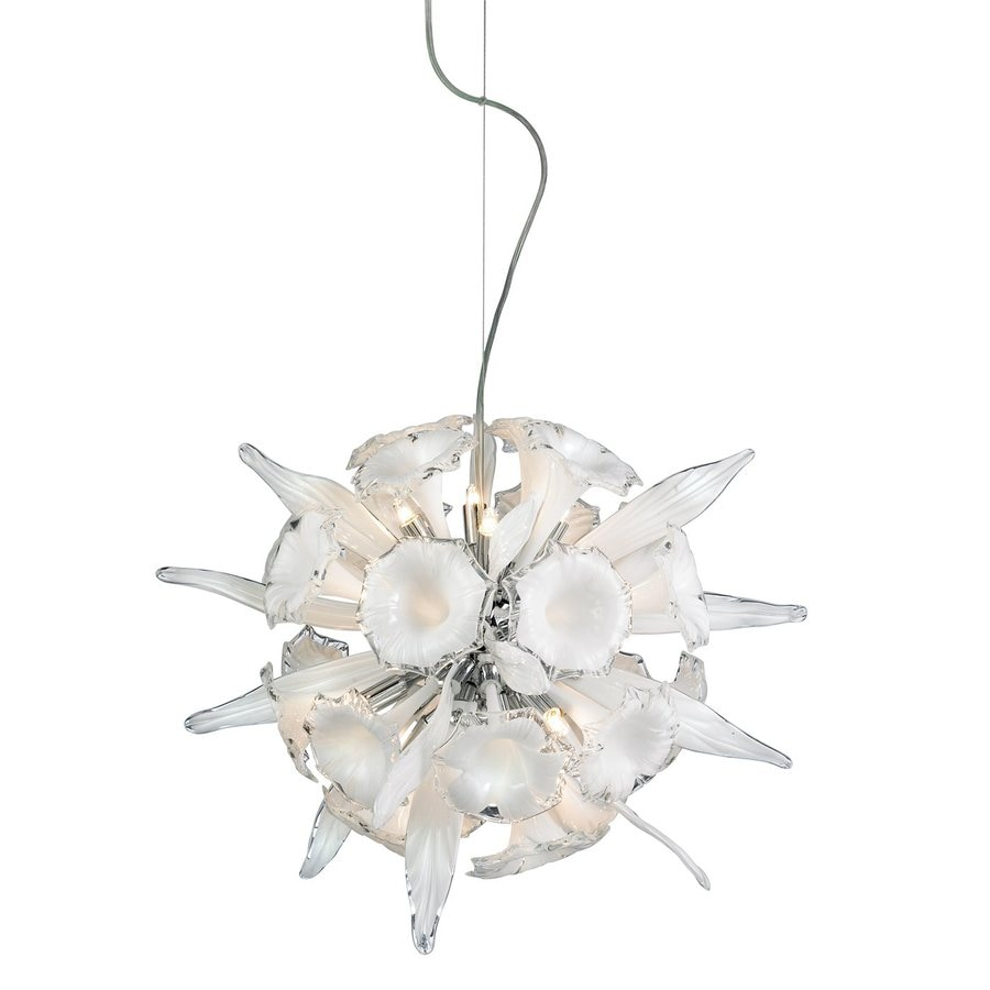 Eurofase Celebri 20-in Chrome Orb Pendant