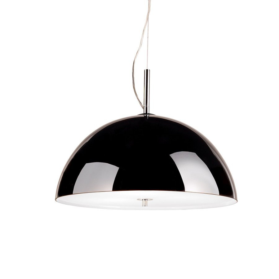 Eurofase Entasis 18.5-in Chrome Industrial Dome Pendant