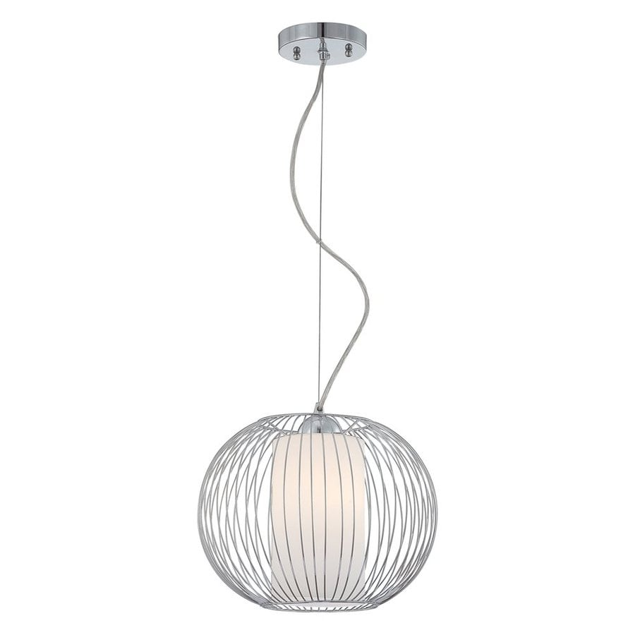 Eurofase Avila 15.5-in Chrome Country Cottage Orb Pendant