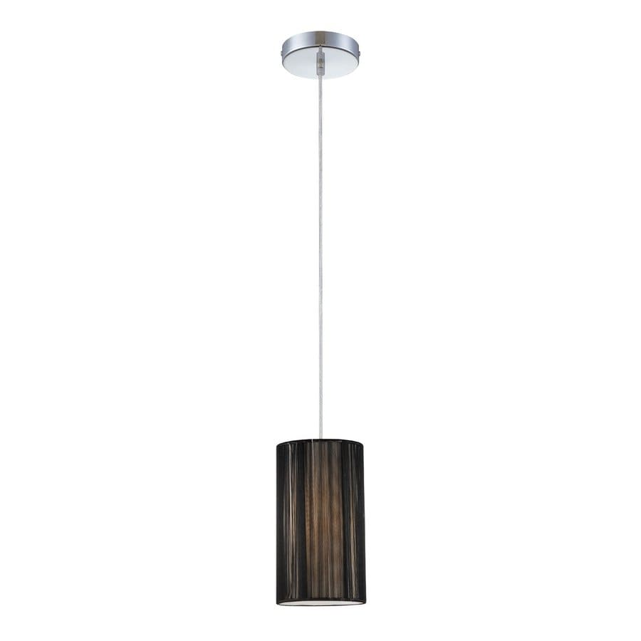 Eurofase Julian 5-in Chrome Mini Cylinder Pendant