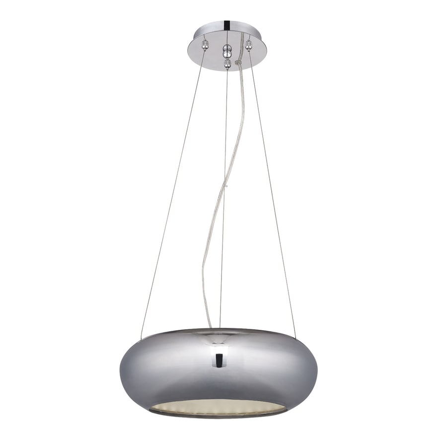 Eurofase Luna 12.5-in Chrome LED Pendant
