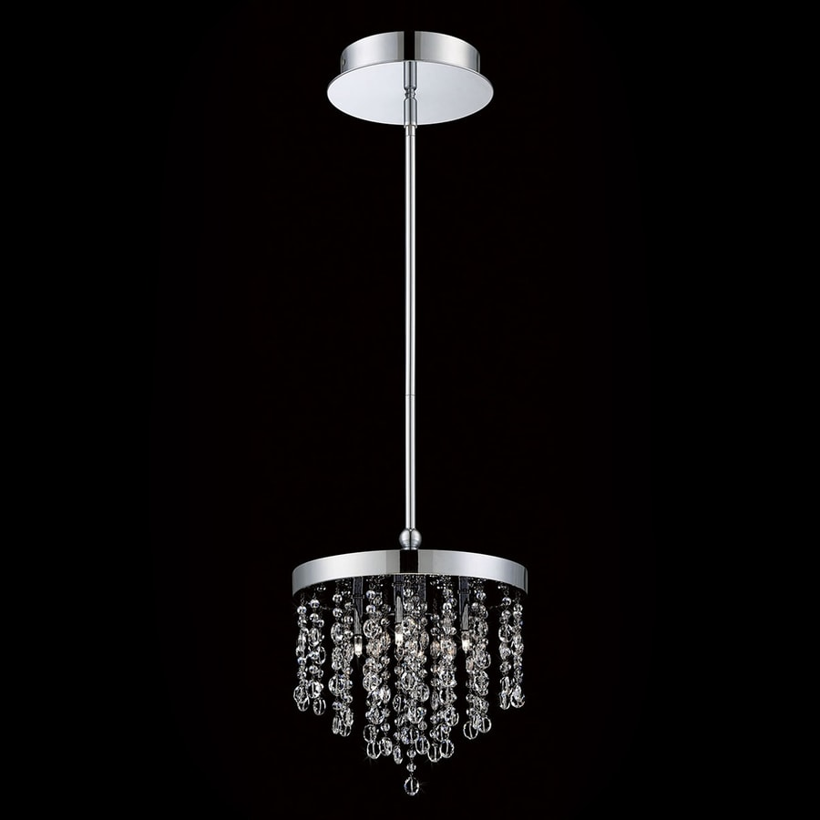 Eurofase Opa 10.25-in Chrome Crystal Pendant