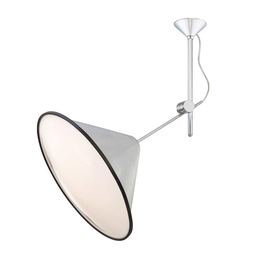 Eurofase Manera 21.5-in W Aluminum Semi-Flush Mount Light