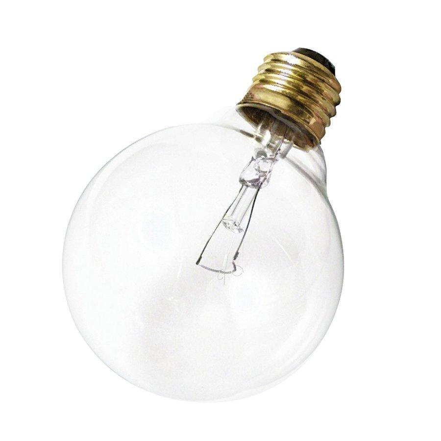 Satco 25-Pack 60-Watt Medium Base Incandescent Light Bulbs