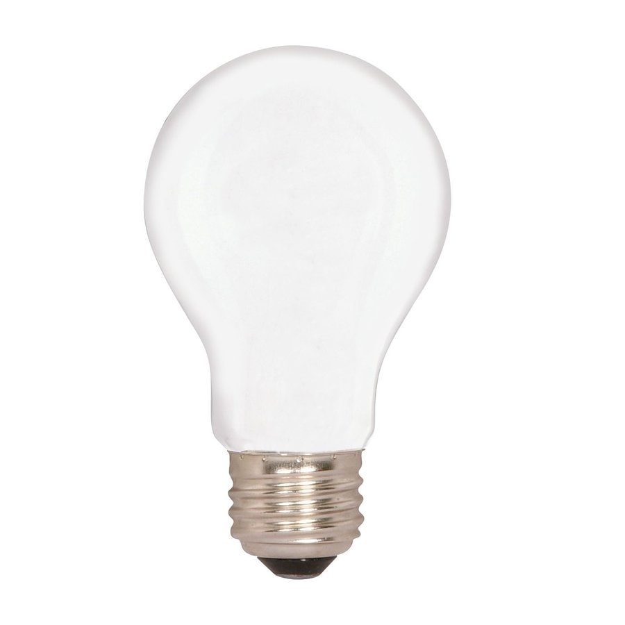 Satco 24-Pack 100-Watt A19 Incandescent Light Bulbs
