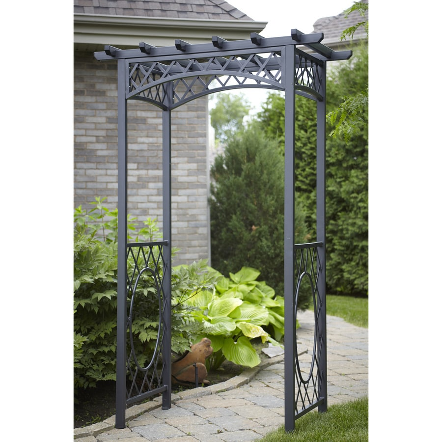 Gazebo Penguin Black Garden Arbor