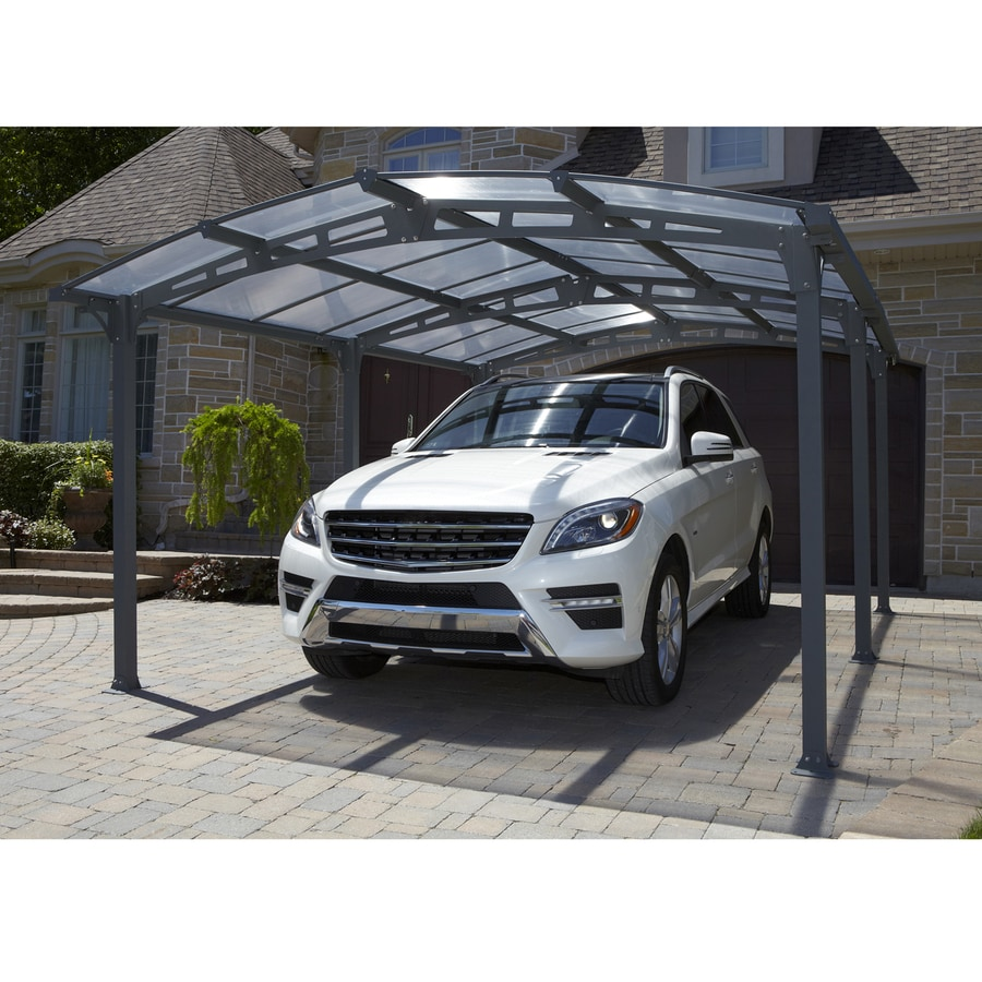 Shop gazebo penguin x x grey 1 car carport