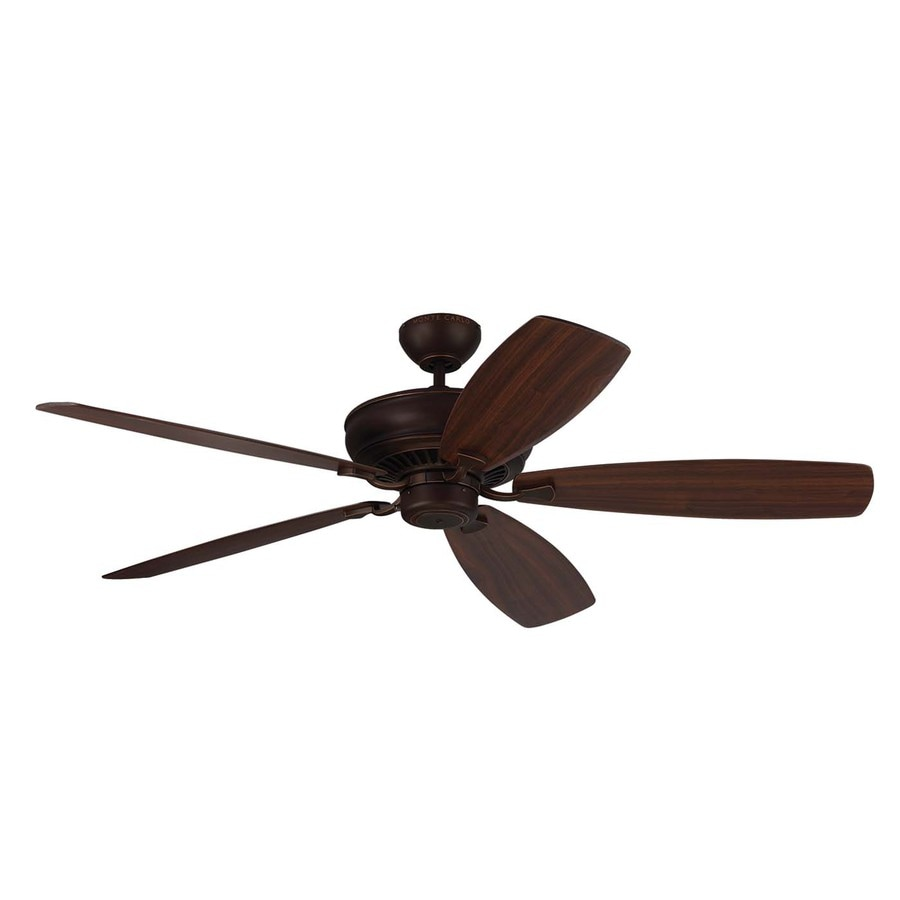 Monte Carlo Fan Company Bonneville Max 60-in Roman bronze Indoor Downrod Mount Ceiling Fan ENERGY STAR