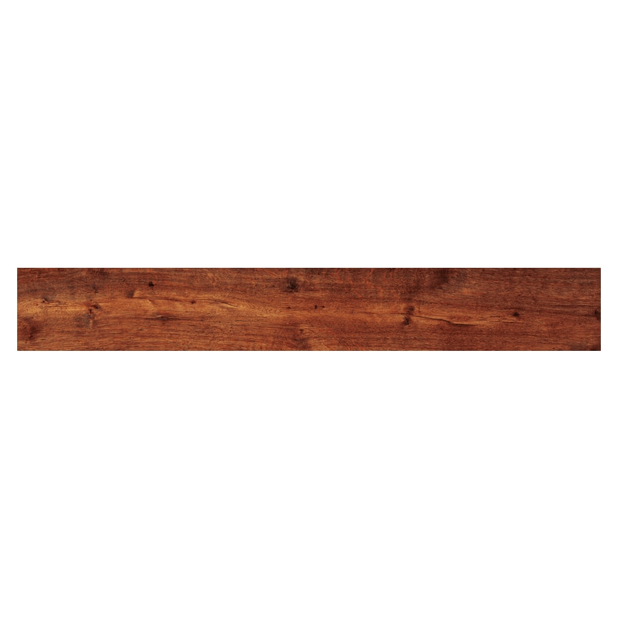 Shop quot aged oak resilient floor wood plank at lowes