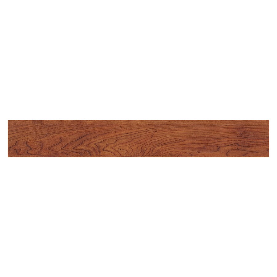 "4"" x 36"" Classic Cherry Resilient Floor Wood Plank"