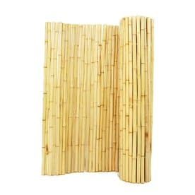backyard xscapes natural wood bamboo fencing common 8ft x 4