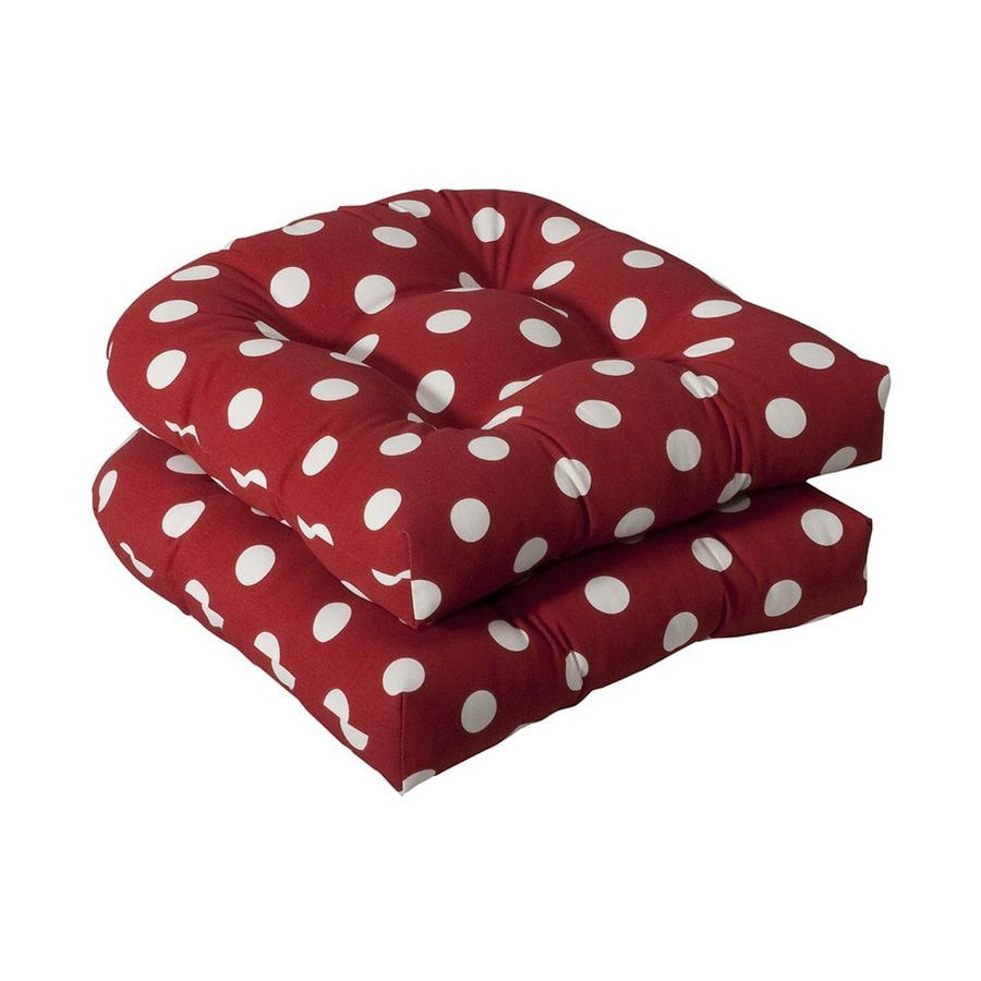 Pillow Perfect Polka Dot Red Universal Seat Pad