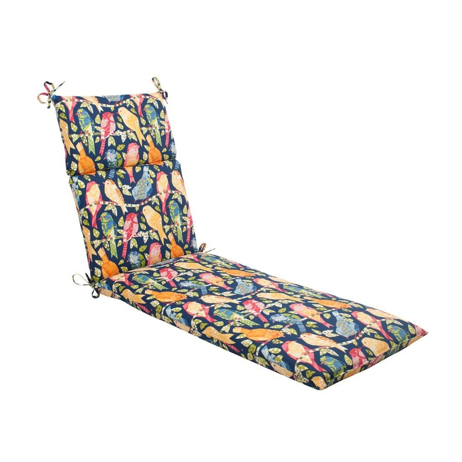 Pillow Perfect 1-Piece Multicolored Standard Patio Chair Cushion