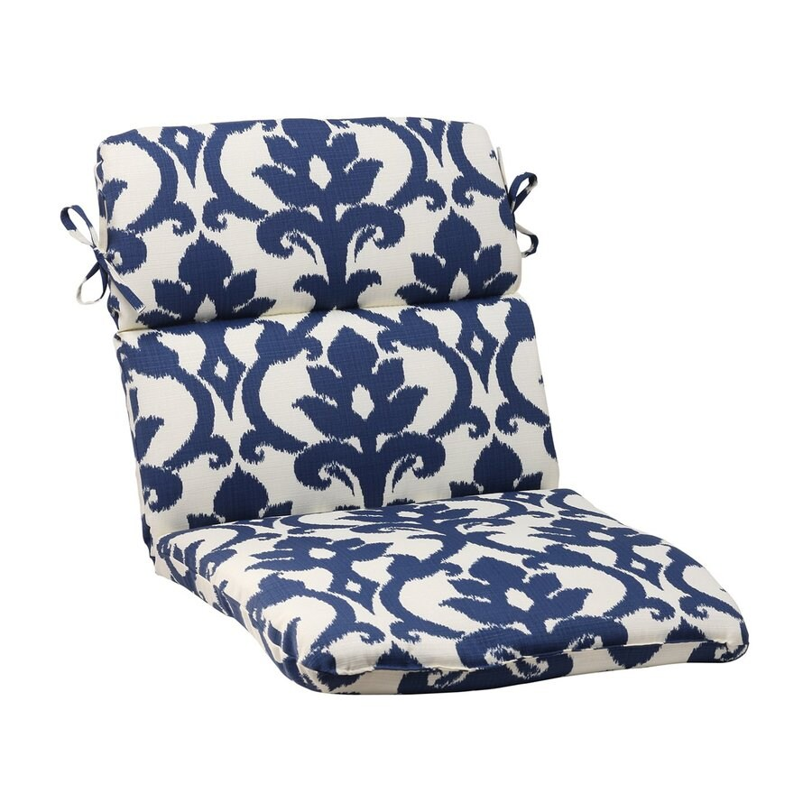 shop pillow 1 navy standard patio chair