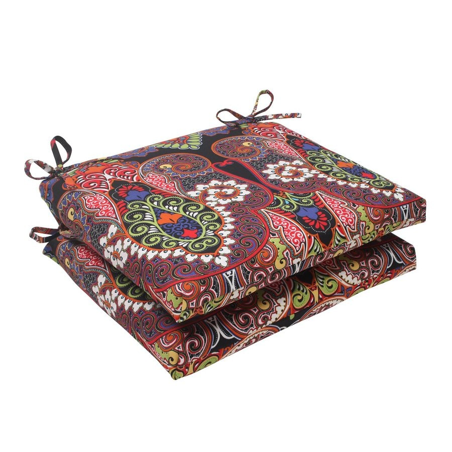 Pillow Perfect Marapi Multicolored Floral Seat Pad For Universal