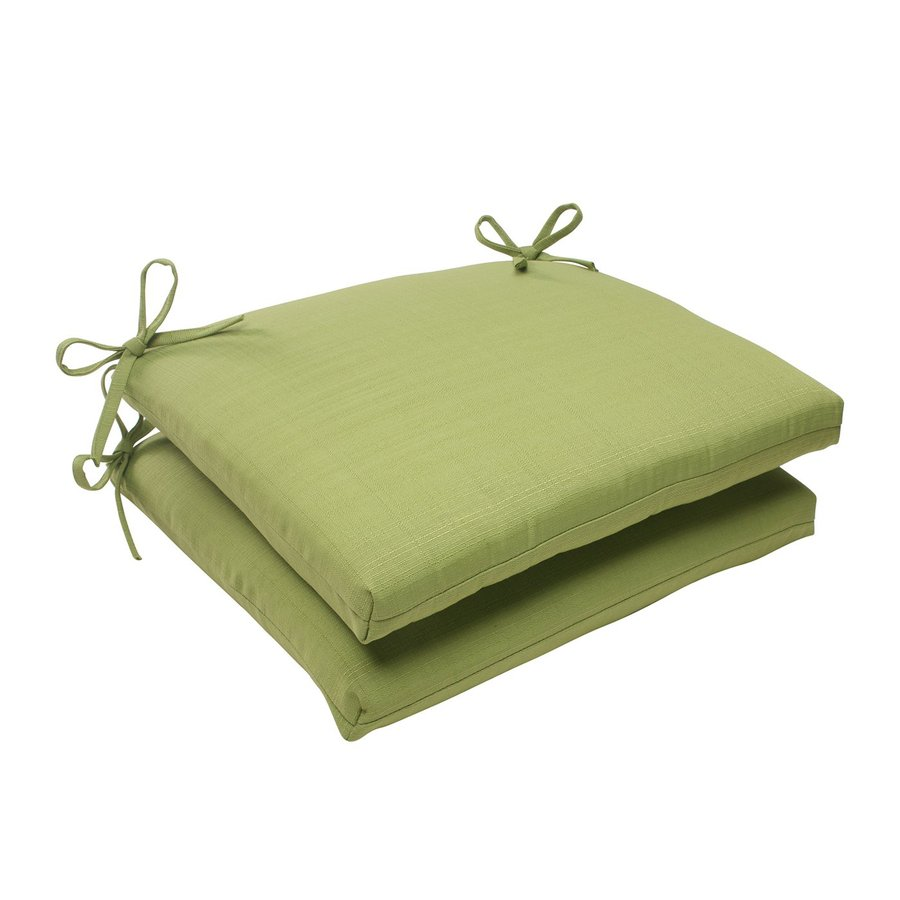 Pillow Perfect Solid Green Universal Seat Pad