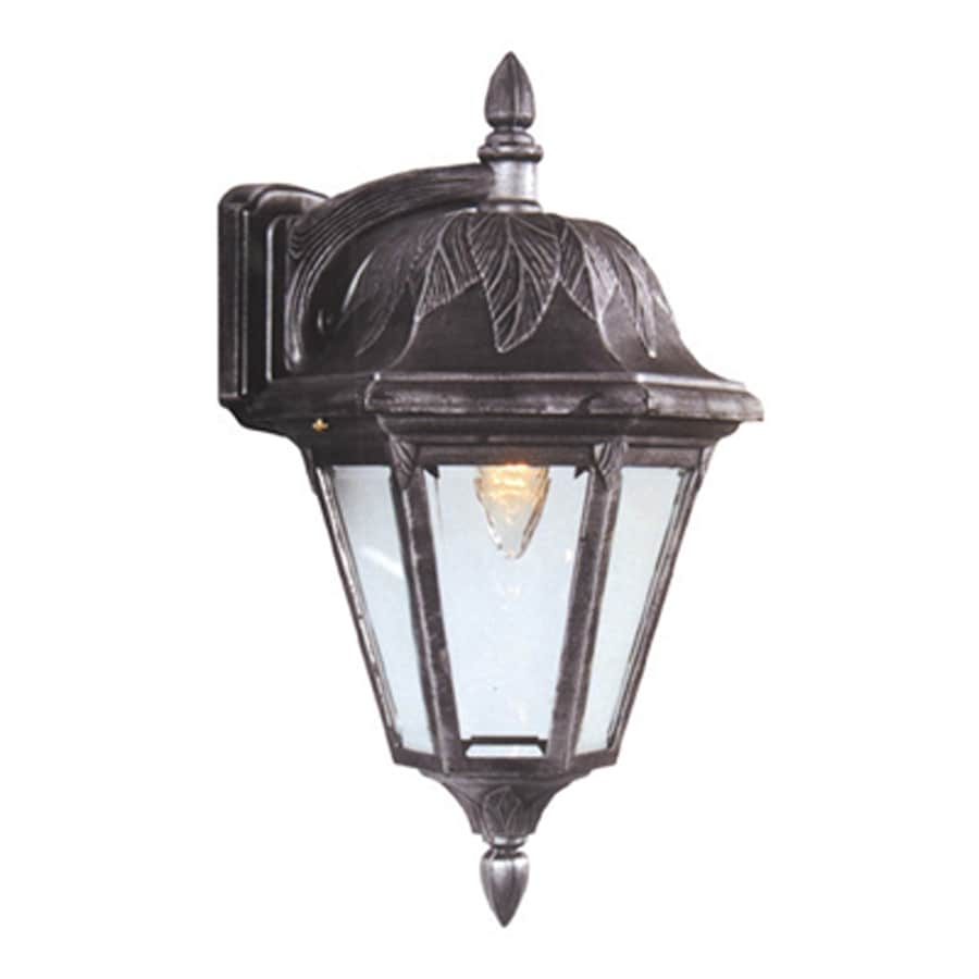 Special Lite Floral 16.5-in H Swedish Silver Outdoor Wall Light