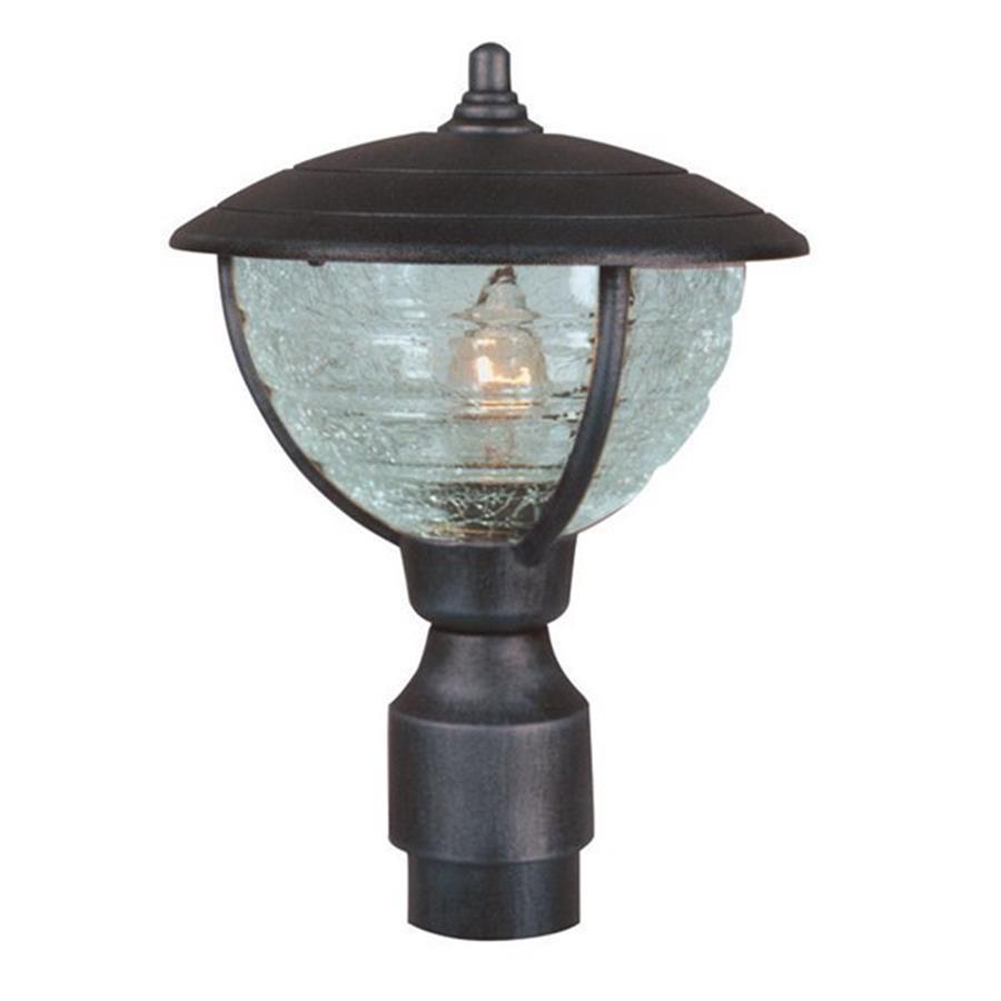Special Lite Vista 12.75-in H Black Post Light