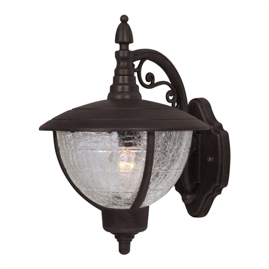 Special Lite Vista 12.5-in H Black Outdoor Wall Light