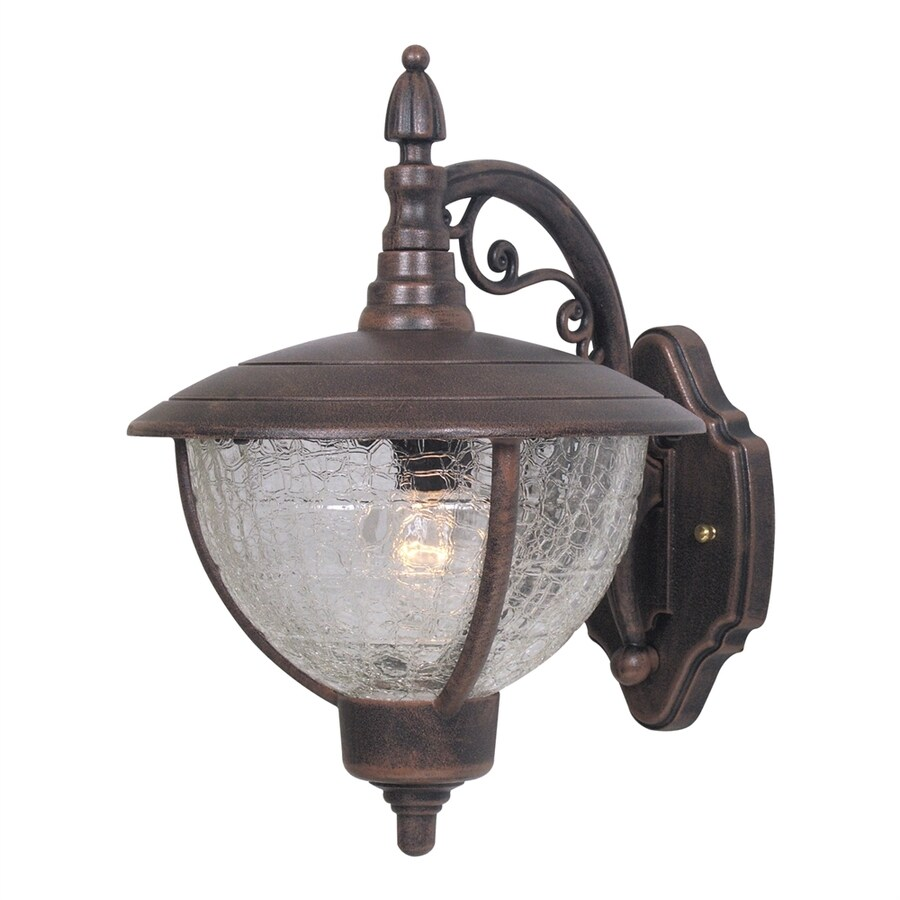 Special Lite Vista 12.5-in H Copper Medium Base (E-26) Outdoor Wall Light