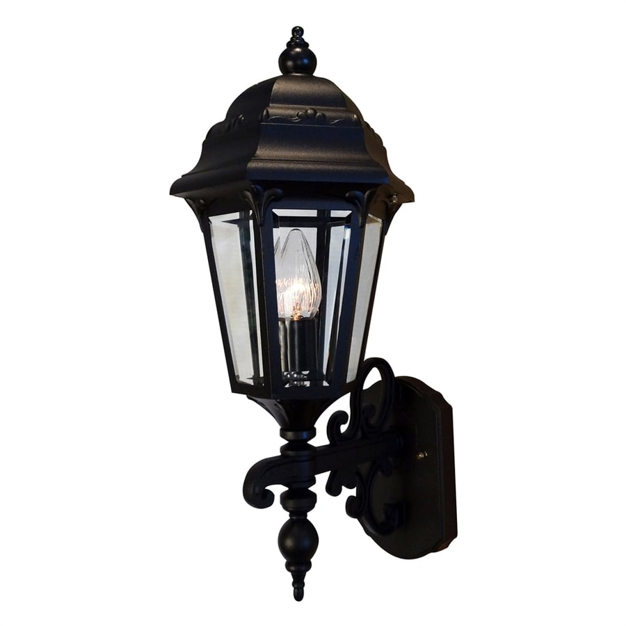 Special Lite Astor 22.75-in H Black Outdoor Wall Light