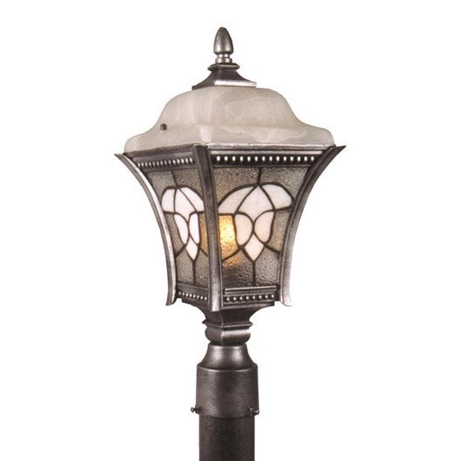 Special Lite Abington 20-in H Swedish Silver Post Light