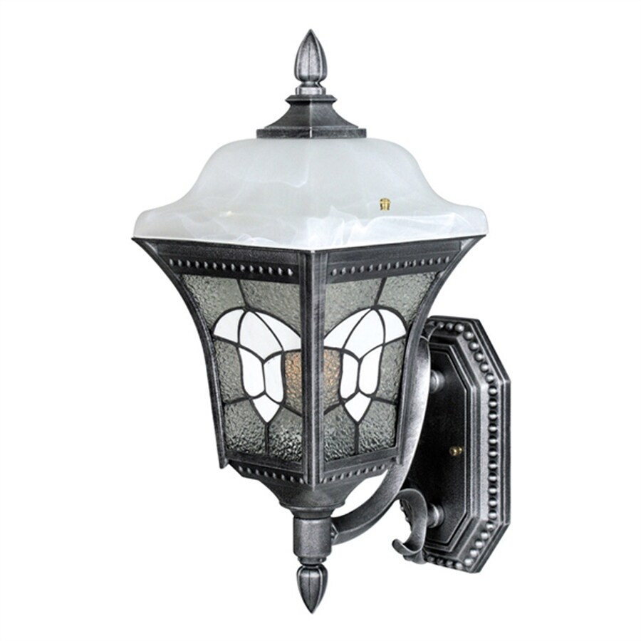 Special Lite Abington 18.75-in H Swedish Silver Outdoor Wall Light