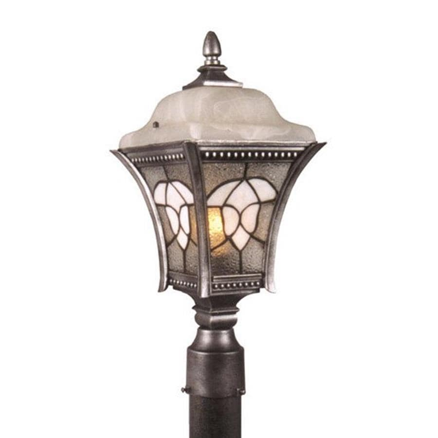 Special Lite Abington 24-in H Swedish Silver Post Light