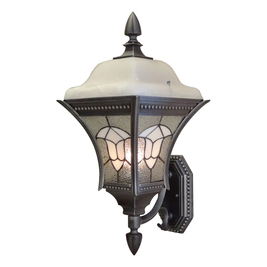 Special Lite Abington 24-in H Swedish Silver Outdoor Wall Light