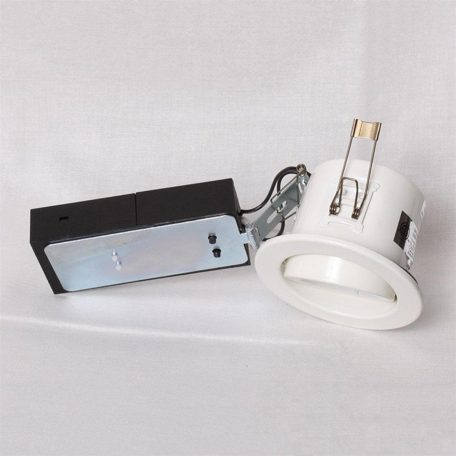 shop twice bright lighting white remodel recessed light kit fits