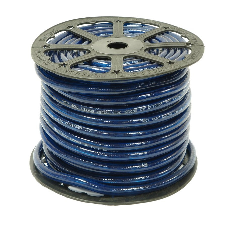 Shop wide loyal 300 ft blue rope light at lowes wide loyal 300 ft blue rope light aloadofball Images