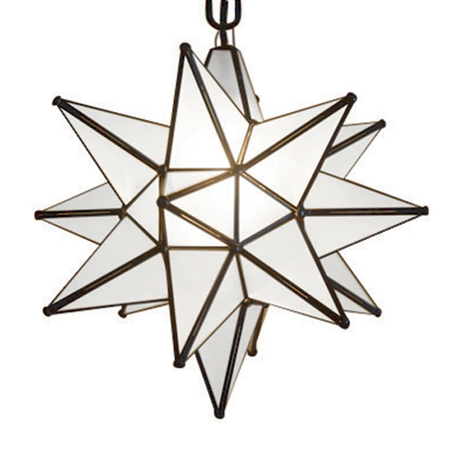 quintana roo moravian star 15in bronze electrical outlet single star pendant