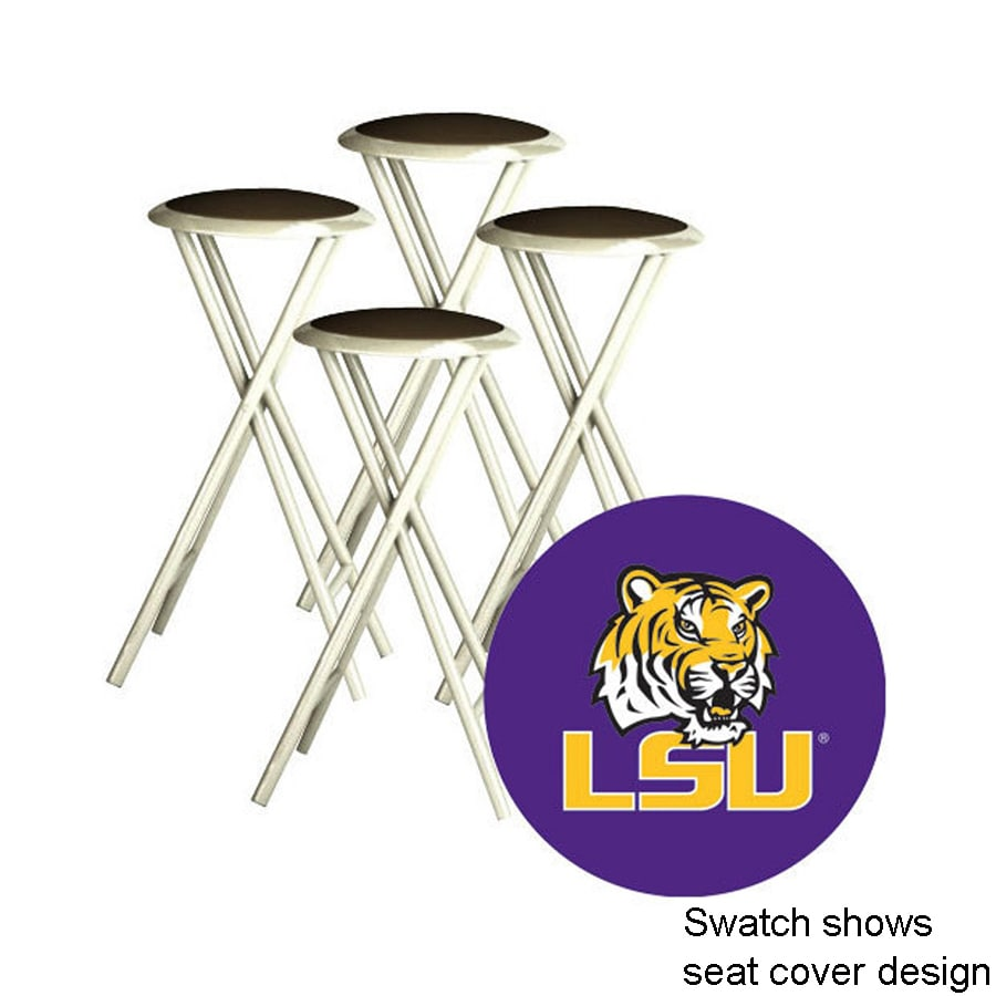 Shop Best Of Times Set Of 4 Lsu Tigers 30 In Bar Stools At