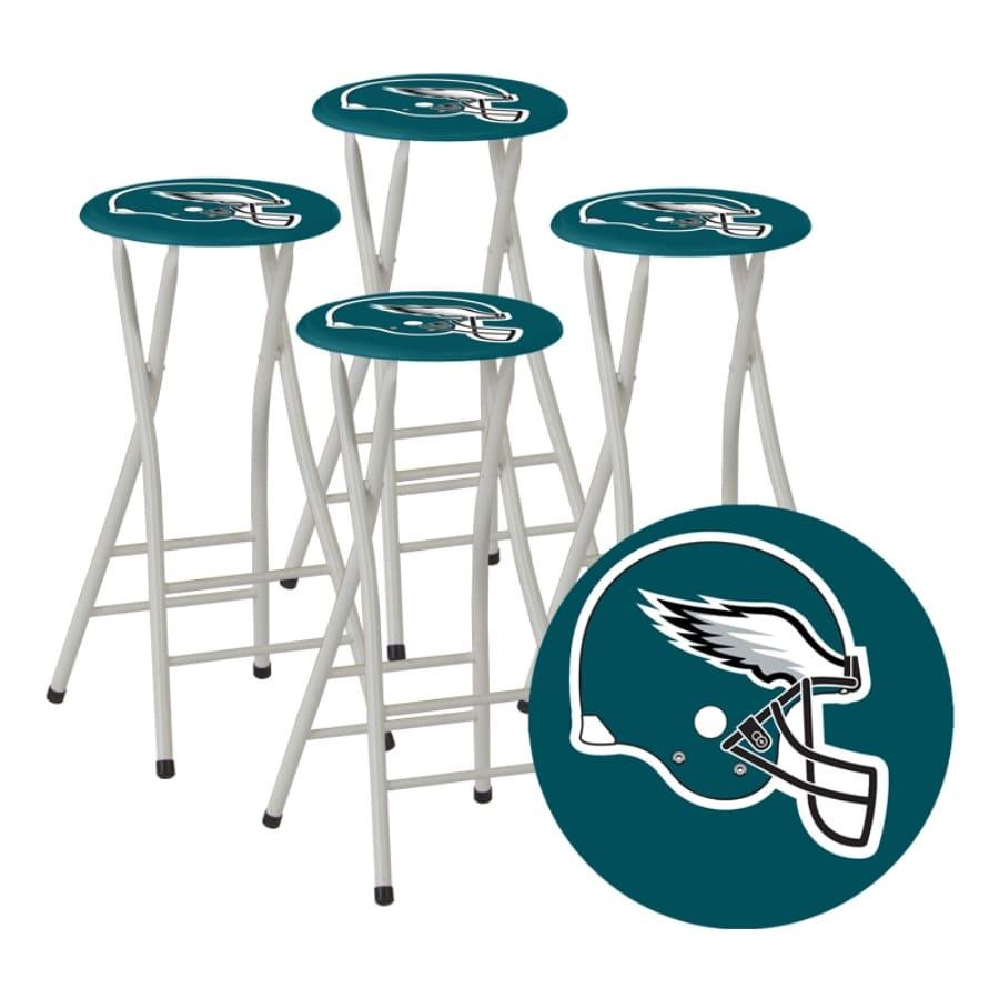 Astounding Best Of Times Set Of 4 Philadelphia Eagles 30 In Bar Stools Inzonedesignstudio Interior Chair Design Inzonedesignstudiocom
