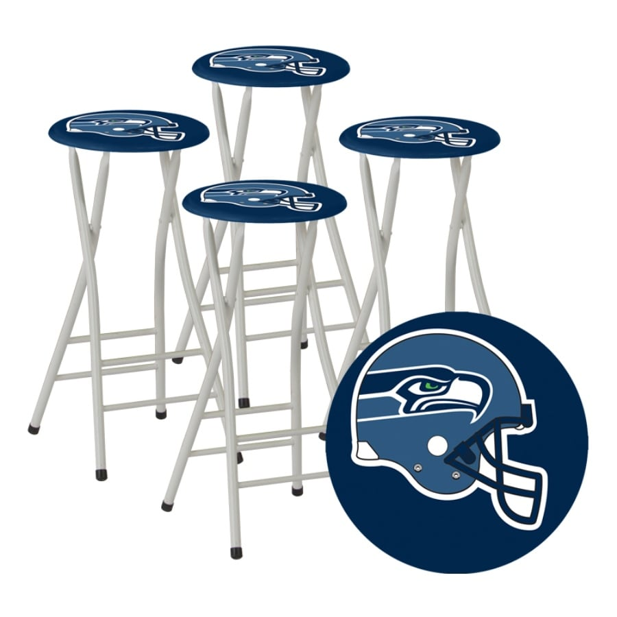 Best Of Times Set Of 4 Seattle Seahawks 30 In Bar Stools At Lowescom