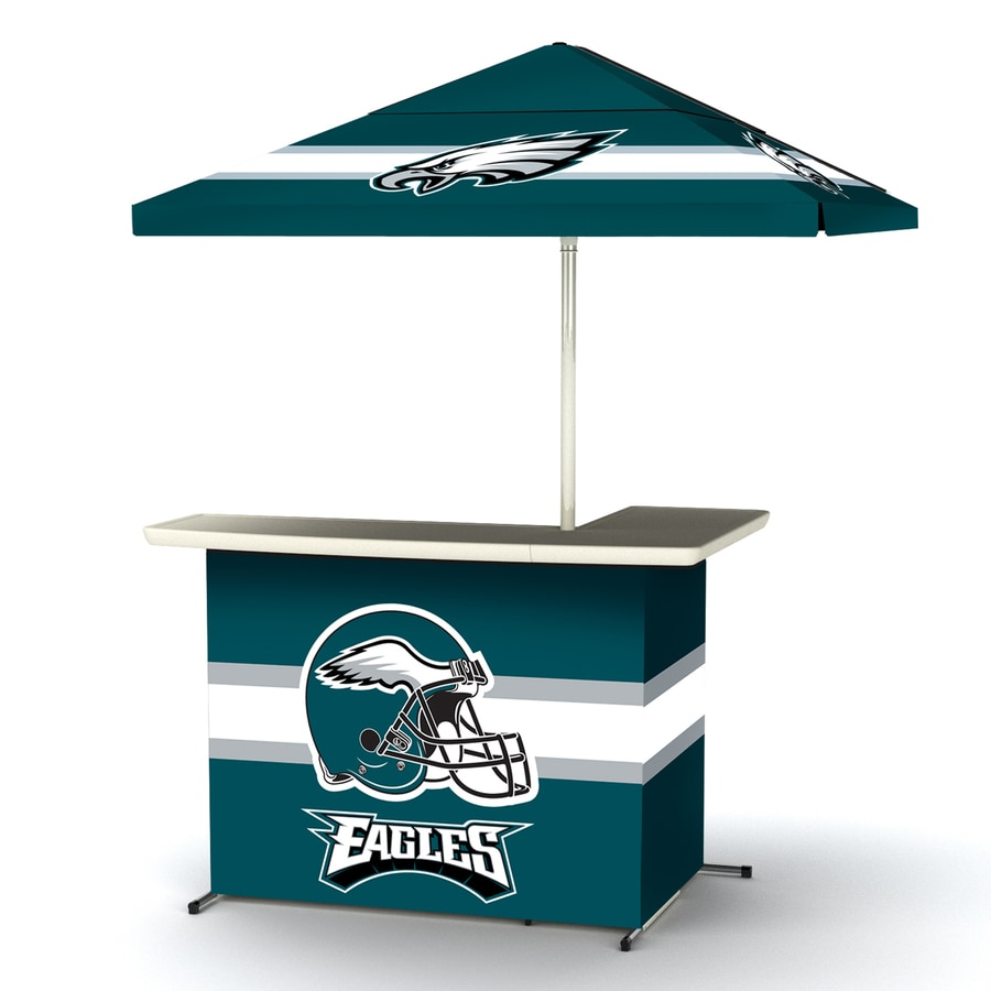 best service 76f9a 8cdd1 Best of Times Philadelphia Eagles 63-in x 44-in L-Shaped Bar ...