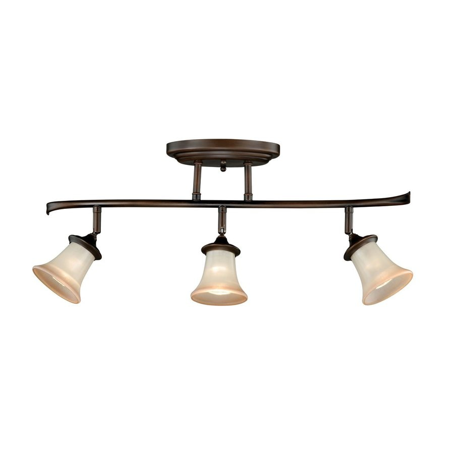 Cascadia Sonora 3-Light 26-in Venetian Bronze Fixed Track Light Kit