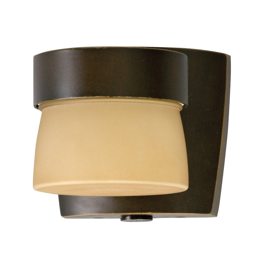 AFX Aria 4.375-in H Oil-Rubbed Bronze Flat Tube Outdoor Wall Light