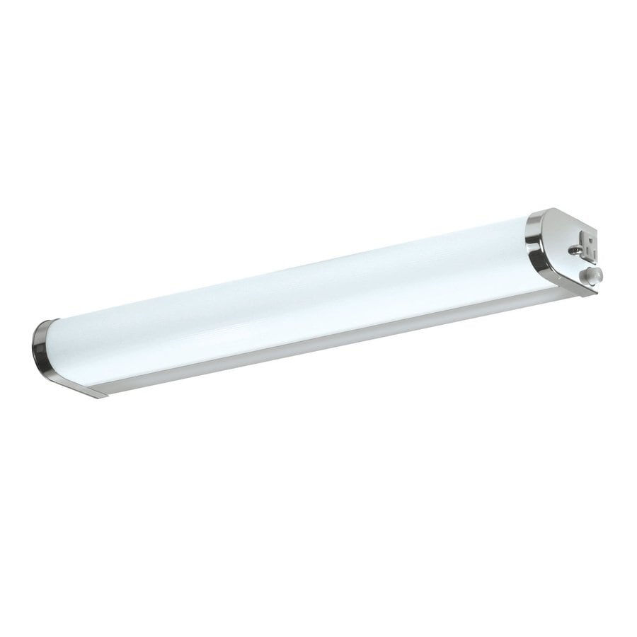AFX 36.38-in W 1-Light Chrome Pocket Wall Sconce