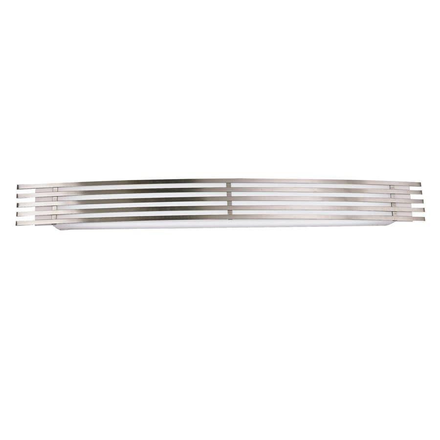AFX Bilbao 1-Light 4.5-in Satin Aluminum Rectangle Vanity Light
