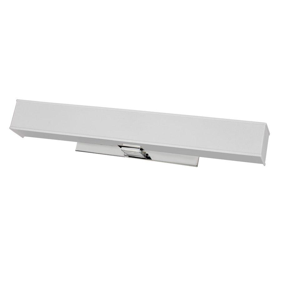 AFX Taylor 1-Light 6.25-in Polished Chrome Rectangle Vanity Light