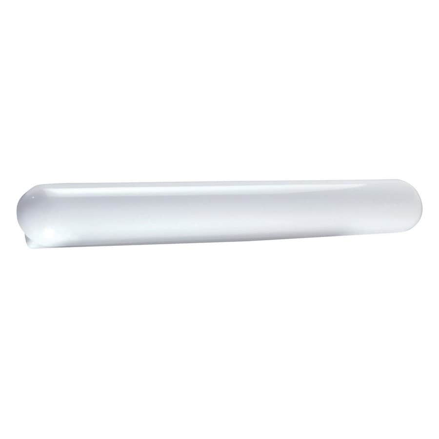 AFX Cloud 1-Light 4.625-in White Cylinder Vanity Light