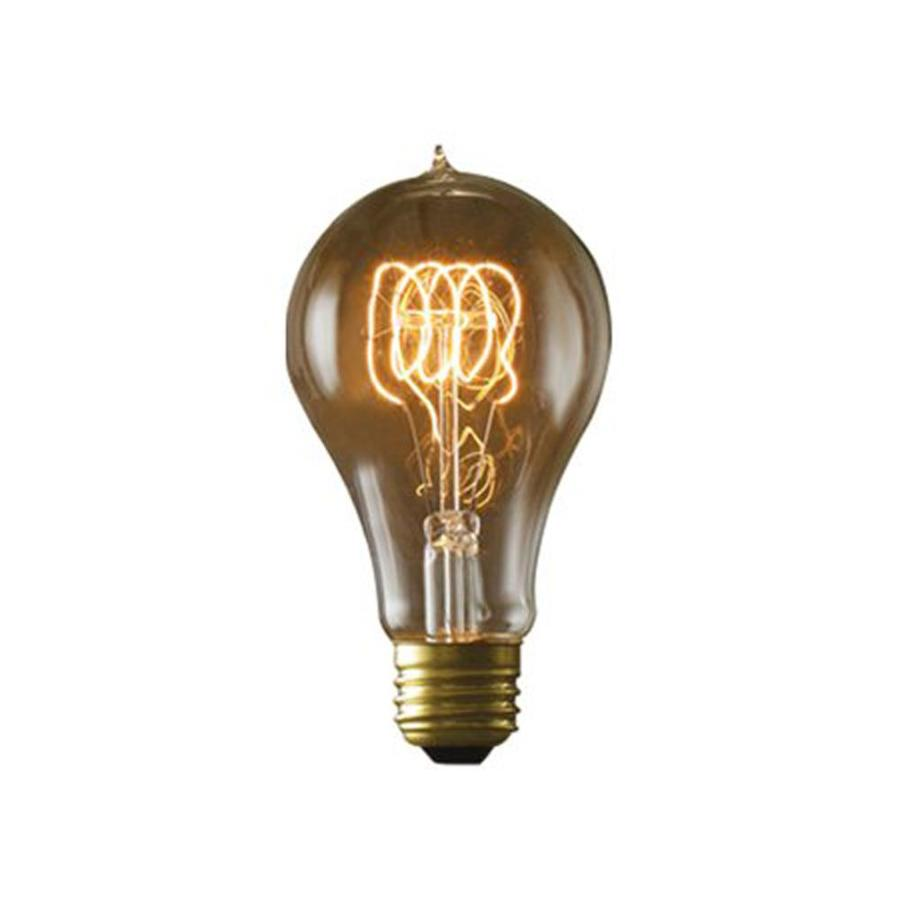 Cascadia Lighting Nostalgic Victorian 2-Pack 40 Watt Dimmable Amber A21 Vintage Incandescent Decorative Light Bulb