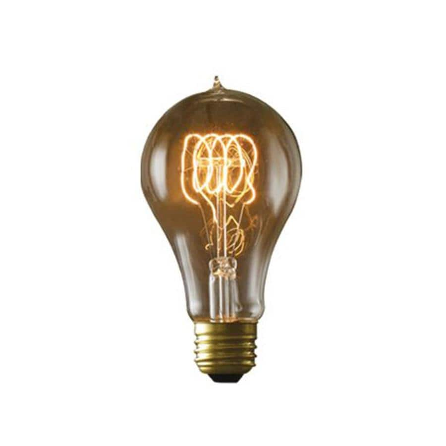 Shop Cascadia Lighting Nostalgic Victorian 2 Pack 25 Watt Dimmable Amber A21 Vintage