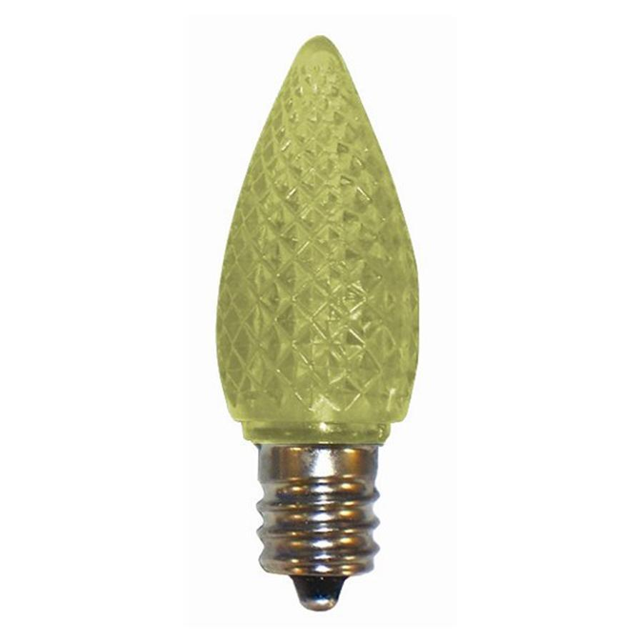 Yellow Outdoor Led Light Bulbs: Shop Cascadia Lighting 25-Pack 0.35-Watt (7W Equivalent