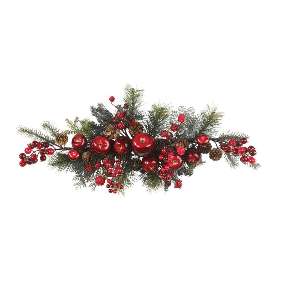 Nearly Natural Apple Berry Indoor Unlit 2.5-ft L Garland